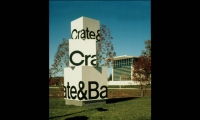 Monumental Site Identification Signs, Crate & Barrel World Headquarters Signage, Calori & Vanden-Eynden/Design Consultants