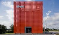 Entrance Facade, E.ON Visitor Center, E.ON Kraftwerke, Kubik BV
