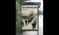 Outdoor Signage, The Fighting Third, Stephanie Bohl, Drexel University