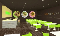 Interior Design, Forkchop Restaurant, James Tsai, Academy of Art University