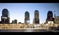 Fiberglas Panels Along Wall, Ground Zero Viewing Wall, Port Authority of New York & New Jersey, Pentagram