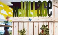Signage, McVillage, McDonald's, UXUS