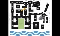Campus Map, MIT Wayfinding & Signage, Olin Partnership and Massachusetts Institute of Technology, Joel Katz Design Associates