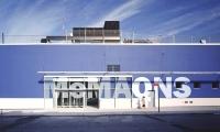 Exterior Graphics, MoMA QNS, Cooper, Robertson & Partners, Two Twelve Associates, Base Design, Michael Maltzan Architecture