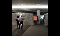 Paper Walls, NeoCon East Installation, Merchandise Mart, Gensler