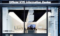 Exterior, The Official NYC Information Center, NYC & Company, Local Projects, WXY Architecture