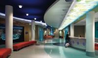 Lobby, Palmetto Health Children's Hospital Wayfinding and Graphics, Stanley Beaman & Sears