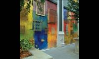Exterior Walls, Santana Row, San Jose, California, Maestri