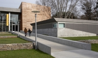 Exterior, Sarah Lawrence College, Polshek Partnership Architects, Poulin + Morris