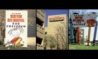 Hospital Signage, Texas Scottish Rite Hospital for Children, HKS