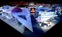 Exhibit Design, Sony PlayStation E3 2001 Exhibit, Sony Computer Entertainment America, Mauk Design