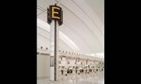 Information Pylon, Lester B. Pearson International Airport, Greater Toronto Airport Authority, Pentagram