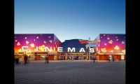 Building Façade, Universal Studios AMC Cinema Graphics, Universal Studios Hollywood, Sussman/Prejza & Company