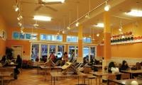 Interior, St. Vincent de Paul Free Dining Room, Debra Nichols Design
