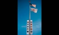 Flags, Westside Children's Center, Lane + Lane Inc. Design Office
