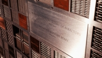Close-Up of Donor Wall, Women's Support & Community Services Donor Wall, Kuhlmann Leavitt, Inc.