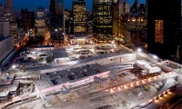 Ground Zero, Temporary WTC Path Station, The Port Authority of New York and New Jersey, Pentagram