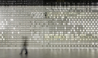 Wall Graphics, Skin,  Pavilion of Knowledge, P-06 Atelier, JLCG Architects