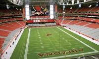 Field, Arizona Cardinals Stadium, Arizona Sports & Tourism Authority, Pentagram, Entro Communications