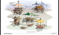 Plan Illustration, Asian Tropics Exhibit Master Plan, Denver Zoo, ECOS Communications