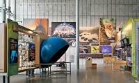 Exhibit Floor, California Academy of Sciences Exhibits, California Academy of Sciences, Volume Inc., Cinnabar Inc.