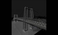Williamsburg Bridge, Cascading Columns, Christian Marc Schmidt, Yale University School of Art