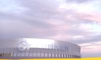 610' Long Sign Structure, Cerner Identity Structure, Cerner Corporation, Gould Evans Goodman