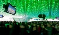 LED Rods from Ceiling, Dream Cube: 2010 World Expo Shanghai Corporate Pavilion, Shanghai Corporate Community, ESI Design