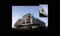 Entrance, Duke Energy Center, City of Cincinnati Department of Transportation and Engineering, Sussman/Prejza & Company, LMN Architects