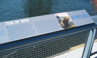 Winches Interpretive Panel, Erie Basin Park, IKEA Corporation, Russell Design