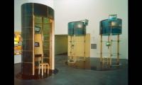 Interactive Exhibit Structures, Explore Gallery, Bellevue Art Museum, West Office Exhibition Design