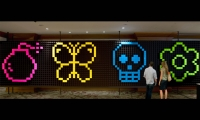 Pixel Wall, IDSA Annual Meeting, Industrial Design Society of America, Ziba Design