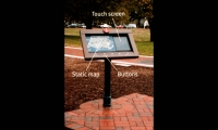 Kiosk, Johns Hopkins i-Site Information Kiosk, Johns Hopkins University, Cloud Gehshan Associates
