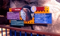 Informational Signage, Los Angeles Zoo Master Plan, Hunt Design Associates