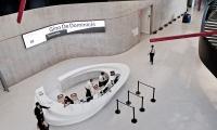 Overhead View of Lobby, Maxxi National Museum of XXI Century Arts, ma:design SRL