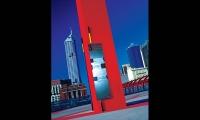 Wayfinding Sign, Melbourne Docklands, Melbourne Docklands Authority, emeryfrost