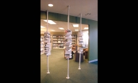 Stacked Book Display, Nortel Networks Calgary Campus, Nortel Networks, HOK Visual Communications