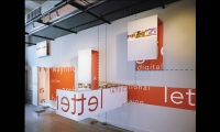 3-D Letterforms, Off the Wall, SEGD, Lee H. Skolnick Architecture + Design Partnership