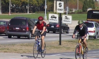 Cyclists, People Powered, Kimberly Viviano, School of the Art Institute of Chicago