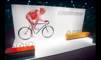 Wheel Sets Display, Reynolds Interbike Exhibit, Reynolds Composites, Mauk Design