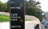 Signpost, Theatre and Auditorium Poitiers (TAP), JLCG Archtects, P-06 Atelier