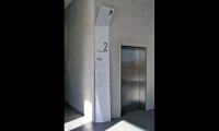 Elevator Signage, University of South Australia Signage, Adelaide, Australia, Emerystudio