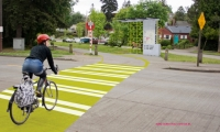Bike Trail Road Crossing, VeloCity, University of Washington, Erin Williams