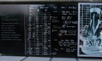 Blackboard, Wall of Discovery, University of Minnesota, LA Ink