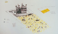 Proposal Plans, World Trade Center Memorial, Rocky Mountain College of Art & Design, Carrie Helle