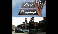 Parking Signs, Zeche Zollverein Wayfinding, Landesentwicklungsgesellsutag (LEG Research and Development Company), F1RST DESIGN