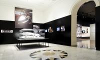 Exhibit Room, Eero Saarinen: Shaping the Future, Museum of the City of New York, Cooper Joseph Studio