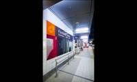 Wall Graphic, Fortitude Valley Station, QR Passenger Pty. Ltd., The Buchan Group