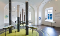 Exhibit Floor, Green Community, The National Building Museum, Matter Architecture Practice, MGMT. design
