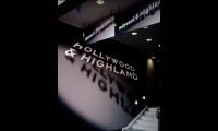 Signage, Hollywood & Highland Retail, TrizecHahn Development Corporation, Sussman/Prejza & Co.